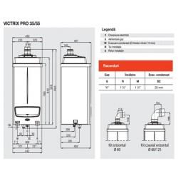 Cazan Immergas in condensare Victrix Pro 35