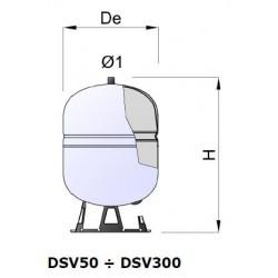 Vas de expansiune solar DS - DSV 8 - 300 LITRI