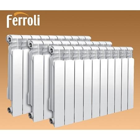 Алюминевые радиаторы Ferroli 500/100, 350/100