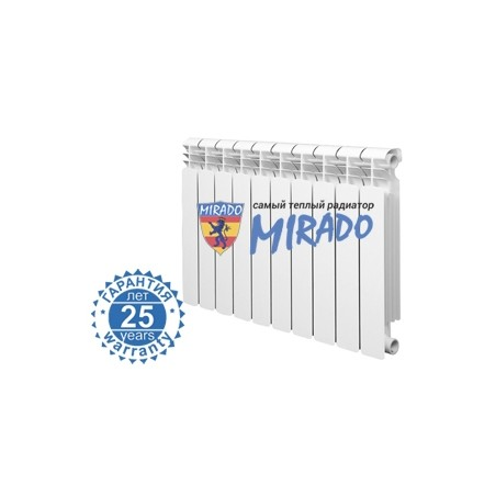 Radiatore bimetal Mirado 500