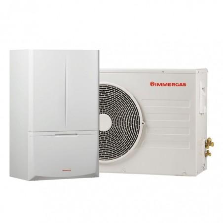 Гибридный тепловой насос вода-воздух 8 кВт Immergas Magis Combo
