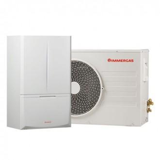 Гибридный тепловой насос 5 кВт Immergas Magis Combo Plus