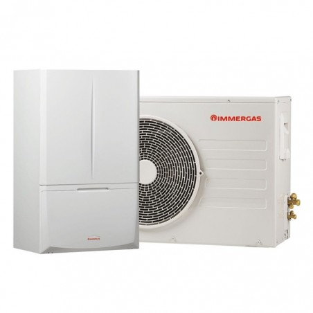 Pompă de caldură hibrid 5 kW Immergas Magis Combo Plus